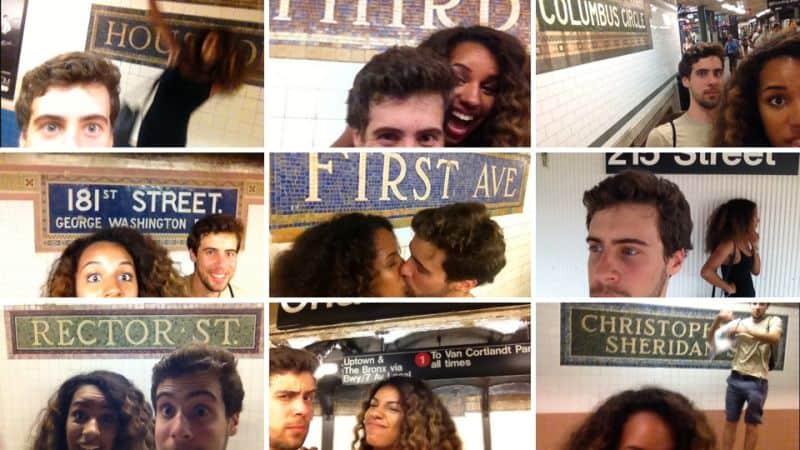 """""""Ti Amo"""" in 118 fermate (della Metro di New York)"""