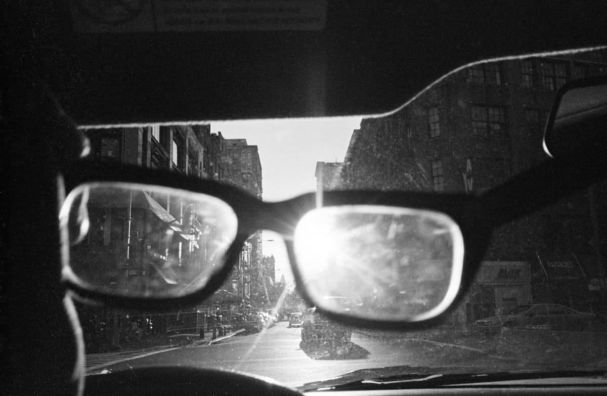 Scorci di New York dall'auto: il fotografo è il tassista