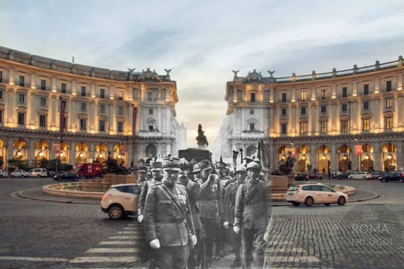 Roma Ieri Oggi: una città sospesa nel tempo