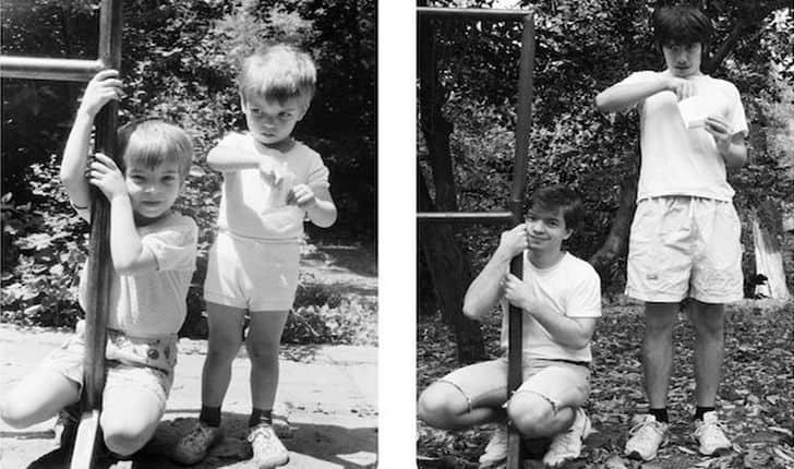 Ripercorrere i luoghi dell'infanzia per fare fotografie molto speciali