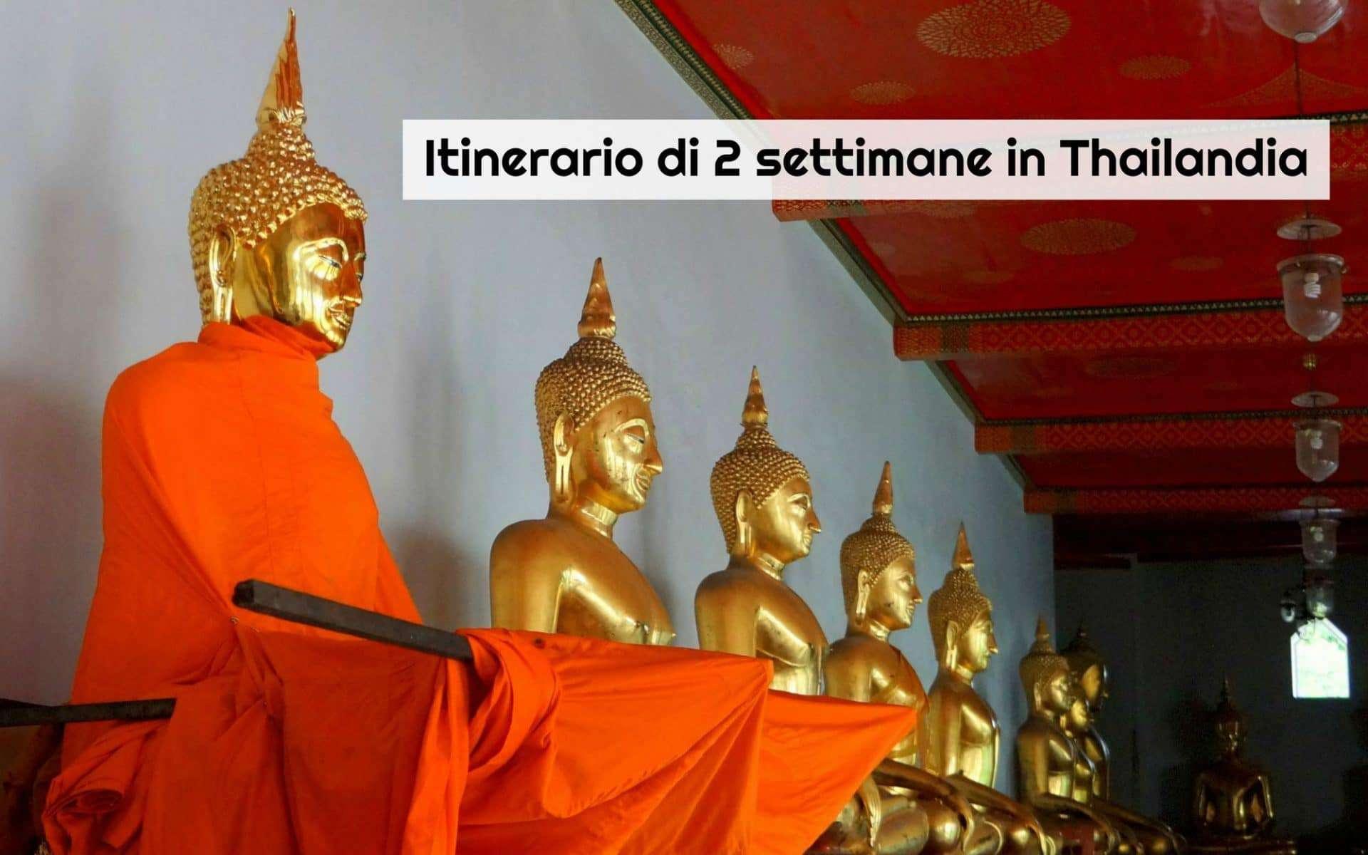 Il mio itinerario di 2 settimane in Thailandia in 10 tappe