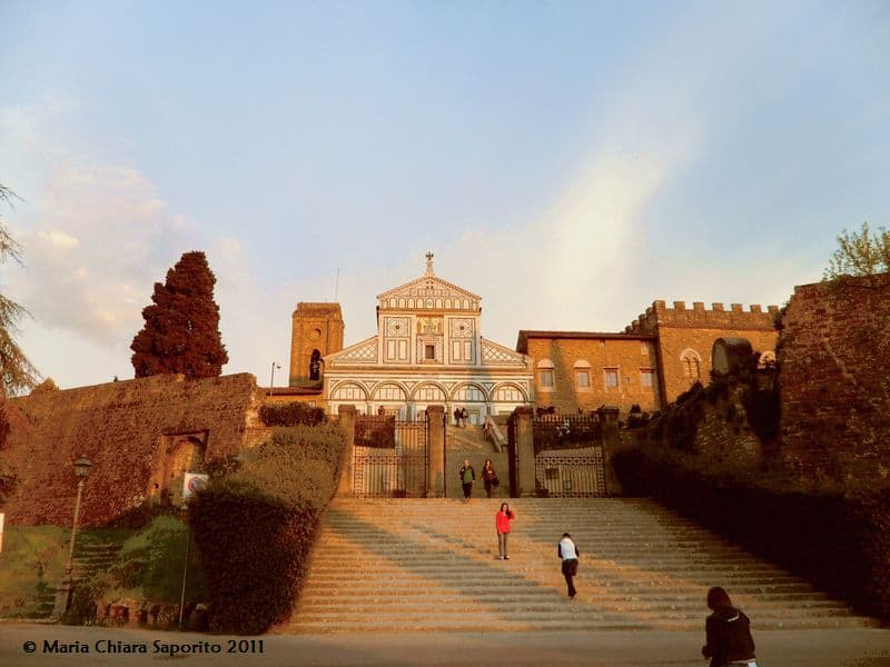 La Basilica di San Miniato al Monte domina e veglia su Firenze