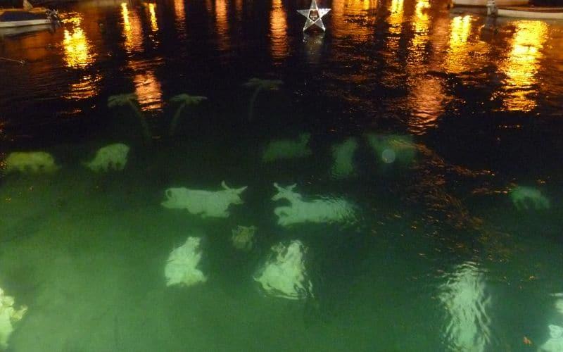 Presepe del Lago: magia del Natale subacqueo a Peschiera del Garda