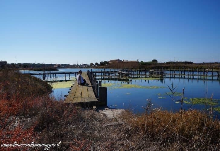 Peschiera di Pontis: l'antico villaggio dei pescatori di Cabras