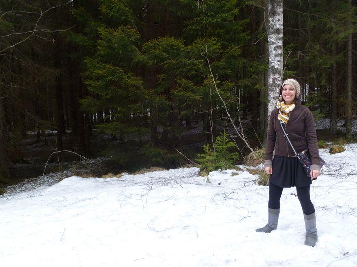 Storia di una viaggiatrice (quasi) dispersa nella foresta norvegese
