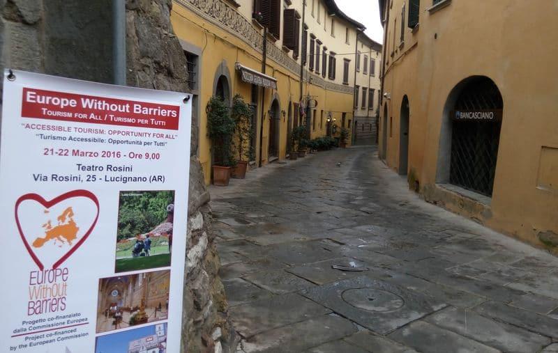 A Lucignano una conferenza sul turismo accessibile per un'Europa senza barriere