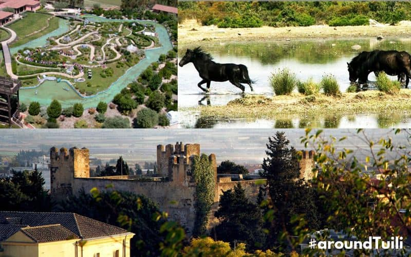 Weekend #aroundTuili: tra parchi a tema, cavalli selvaggi e antichi castelli