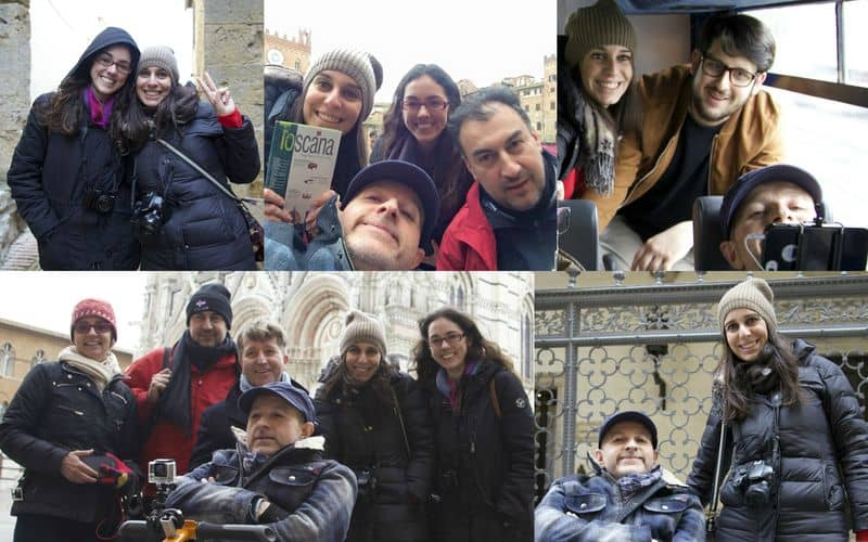 Blog tour tra Siena e Pienza: travel blogger alla ricerca di una Toscana accessibile