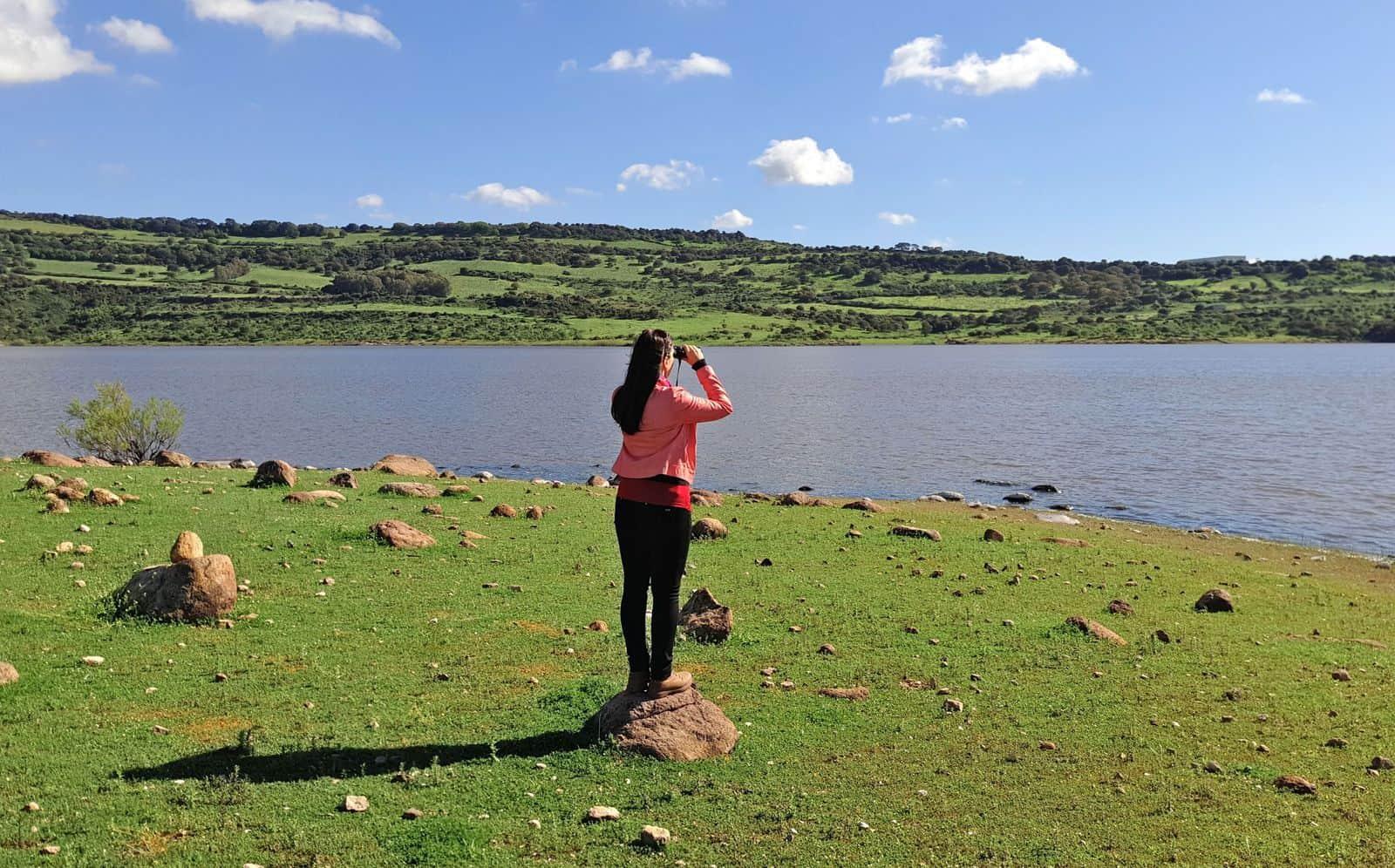 Al lago del Cuga si pescano emozioni