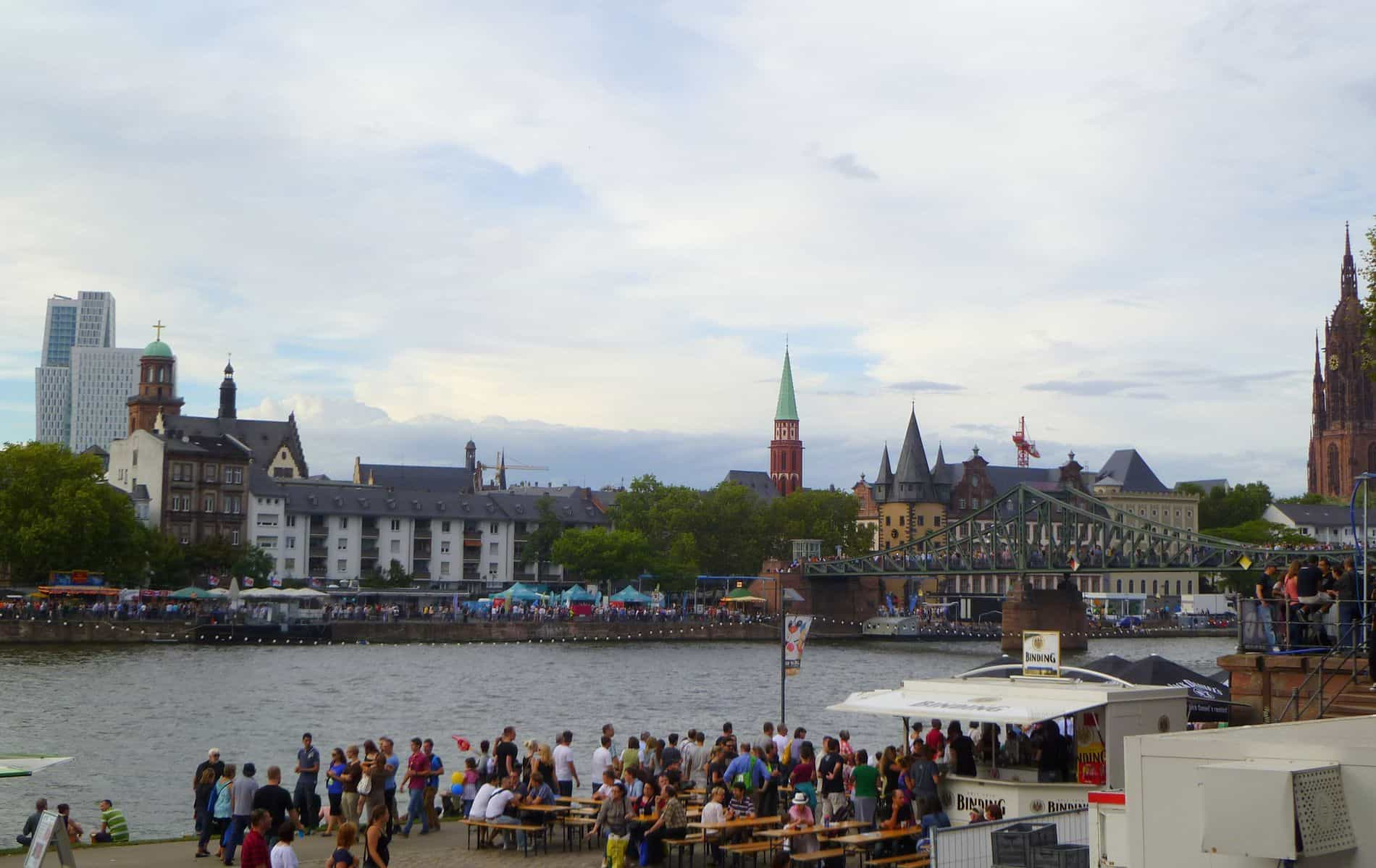 Museumsuferfest, la festa dei musei di Francoforte