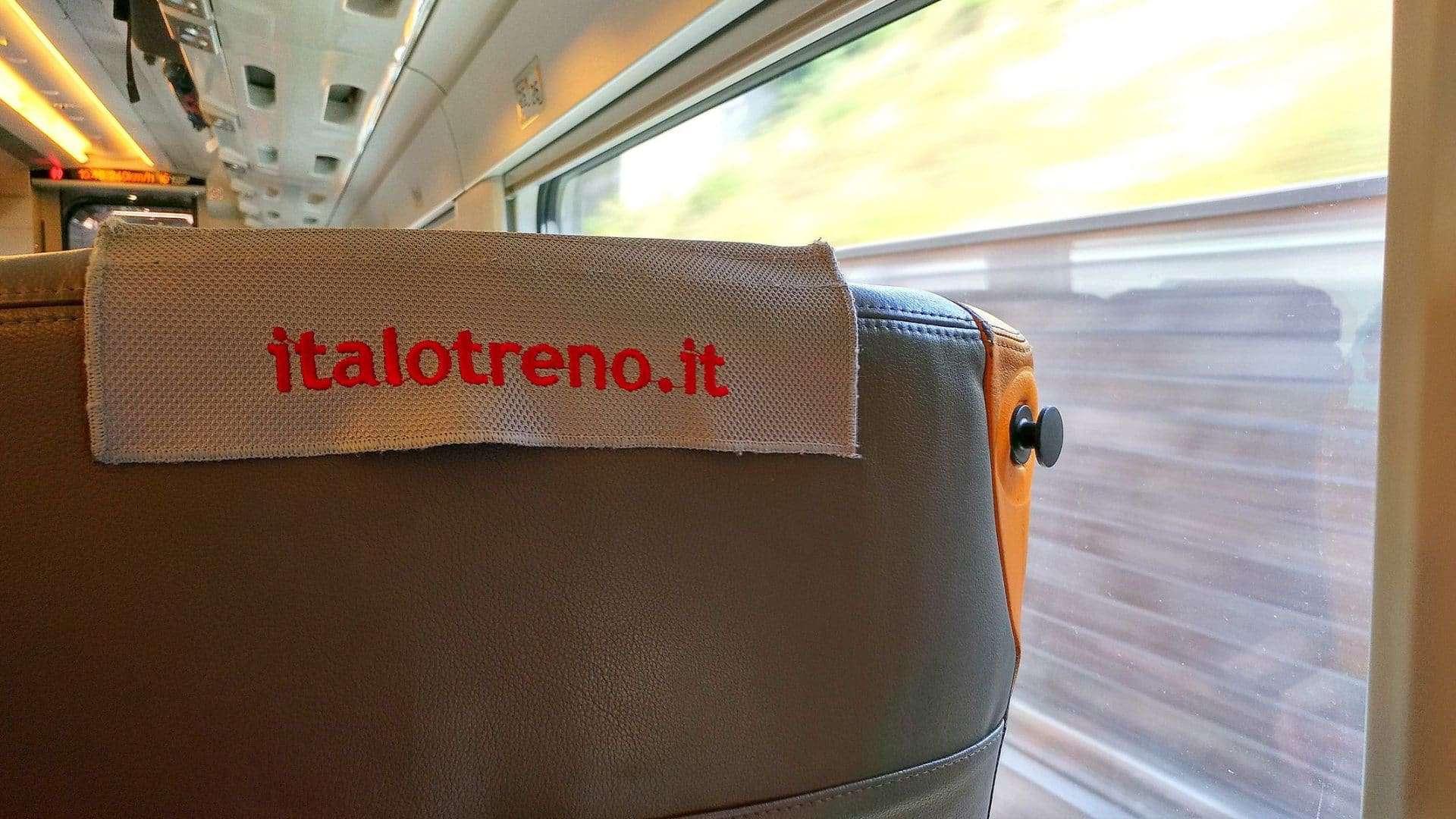 """Come si viaggia a bordo di Italo Treno: la mia esperienza """"smart"""""""