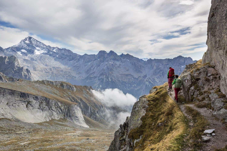 5 itinerari naturalistici per fare trekking d'autunno in Valtellina