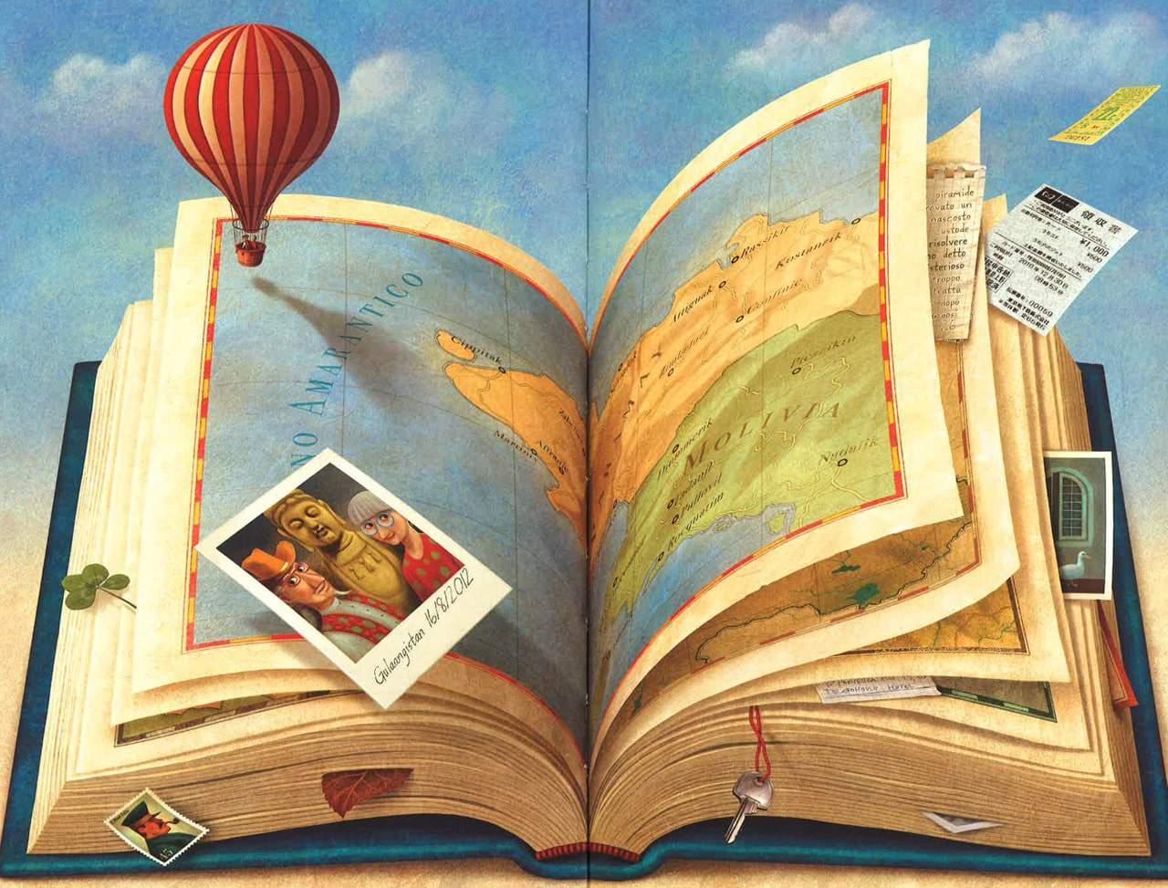 Atlante dei luoghi letterari per viaggiare nella letteratura dall'Odissea a Tolkien