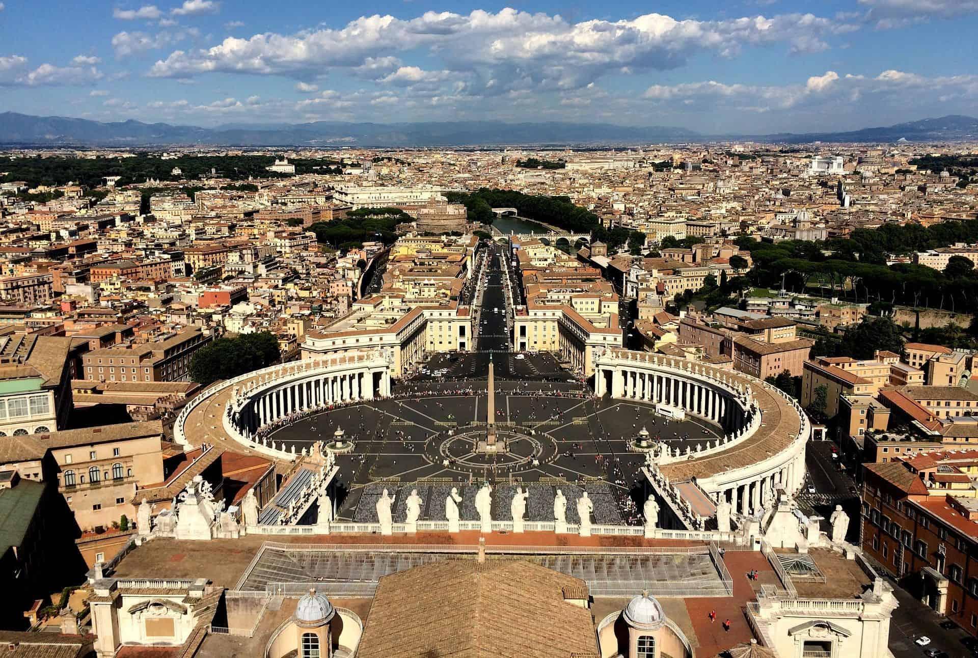 Come arrivare al centro di Roma dall'Aeroporto di Fiumicino